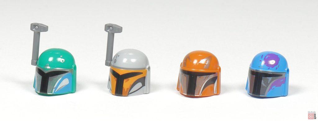LEGO® Star Wars™ 75267 - Helme Vorderseite | ©2019 Brickzeit