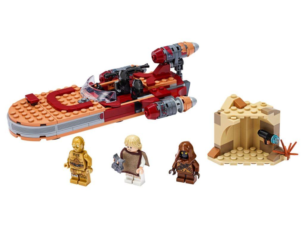 LEGO® Star Wars 75271 Luke Skywalkers Landspeeder | ©LEGO Gruppe
