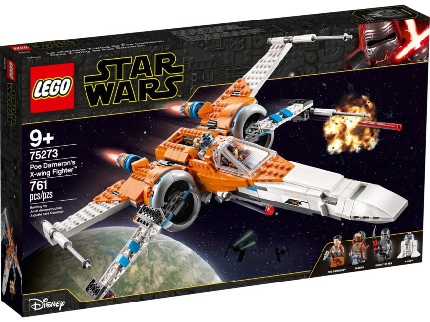 LEGO® Star Wars 75273 Poe Damerons X-Wing Fighter | ©LEGO Gruppe