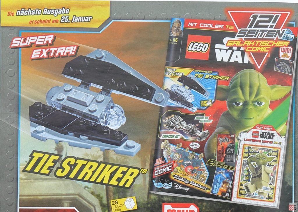 LEGO® Star Wars™ Magazin Nr. 55 (Januar 2020) - Heftvorschau Nr. 56 | ©2019 Brickzeit