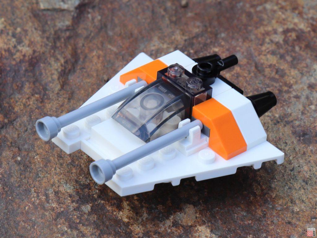 LEGO Star Wars Magazin Nr. 55 - Snowspeeder, vorne | ©2019 Brickzeit