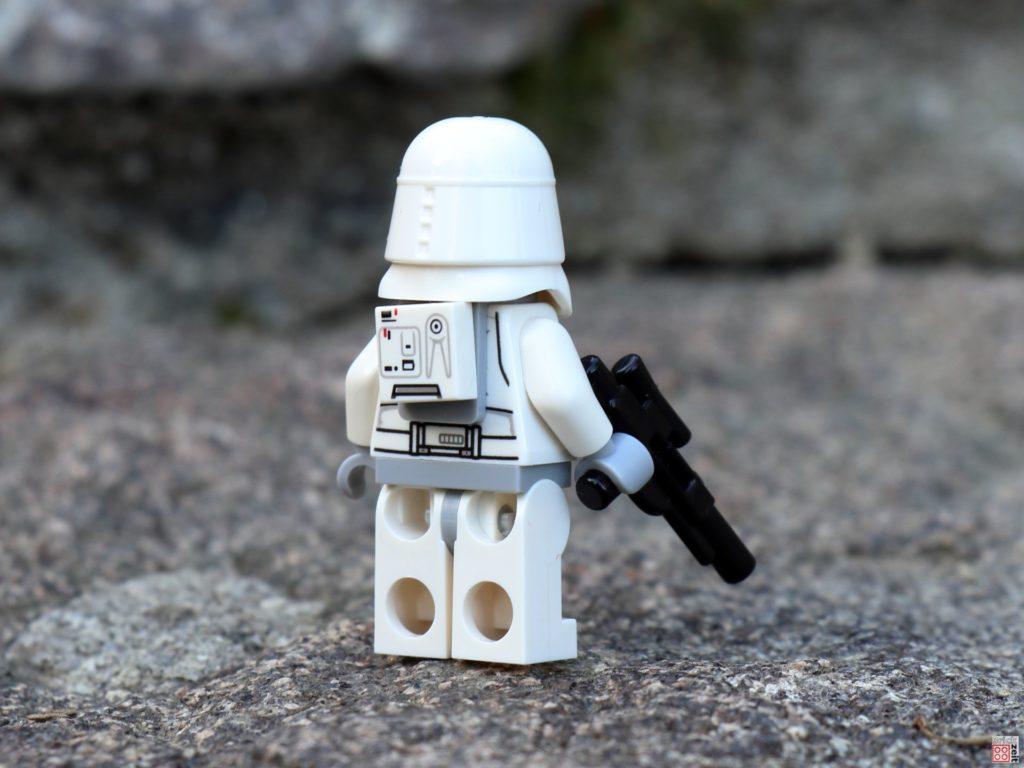 LEGO Star Wars Magazin Nr. 55 - Snowtrooper, hinten | ©2019 Brickzeit