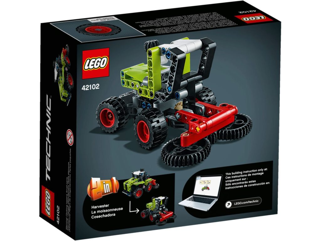 LEGO® Technic 42102 Mini CLAAS XERION | ©LEGO Gruppe