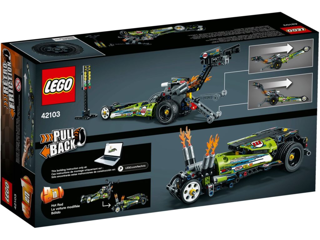 LEGO® Technic 42103 Dragster | ©LEGO Gruppe