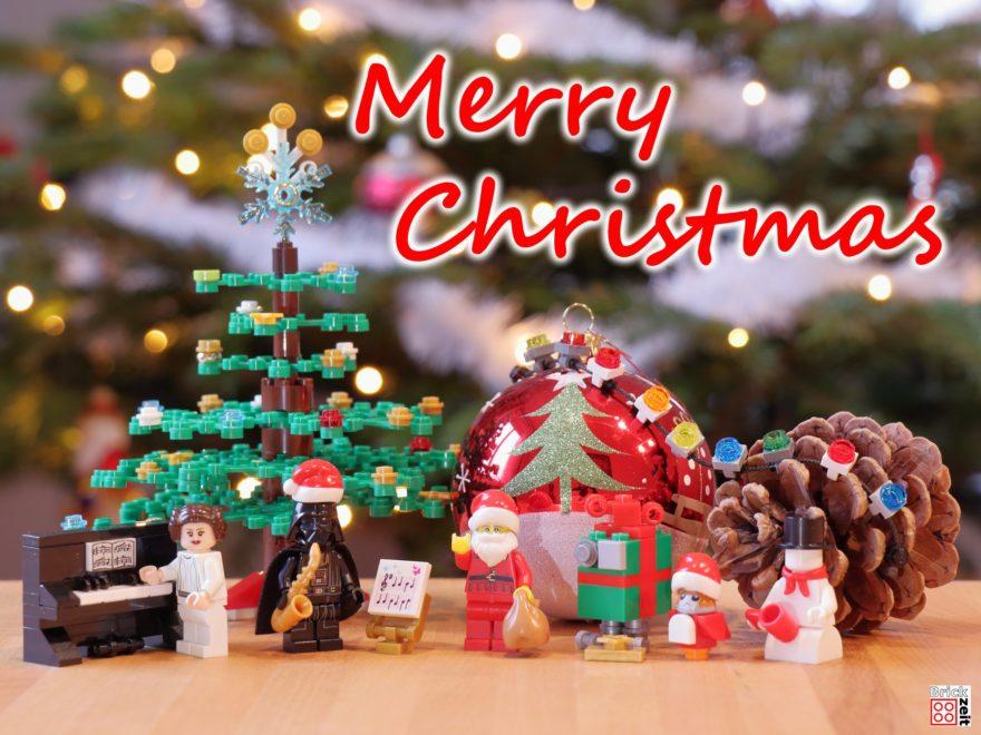 Frohe Weihnachten 2019 | ©Brickzeit