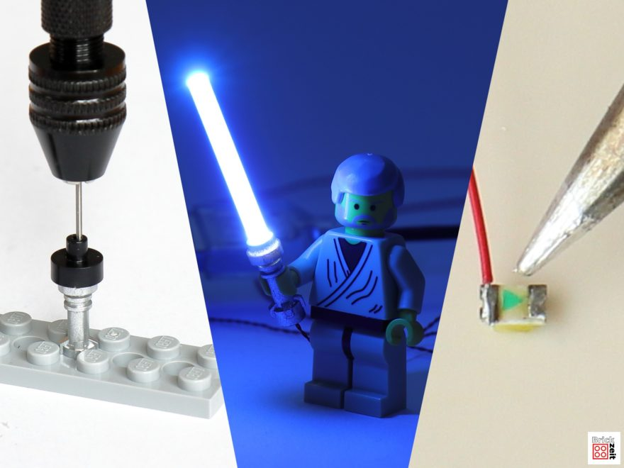 Do It Yourself - LEGO Lichtschwert mit LED | 2020 Brickzeit