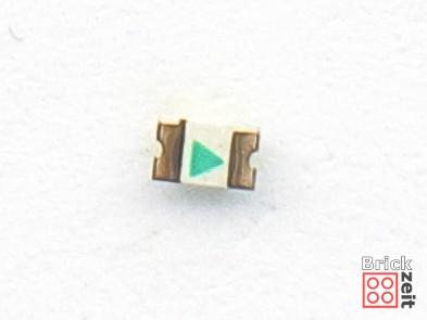 SMD LED von unten | ©2020 Brickzeit