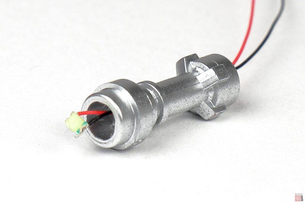 SMD LED montieren | ©2020 Brickzeit