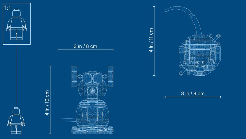 LEGO® 40355 Jahr der Ratte - Blueprint | ©LEGO Gruppe