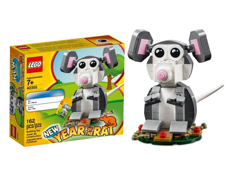 LEGO® 40355 Jahr der Ratte als Gratisbeigabe | ©LEGO Gruppe