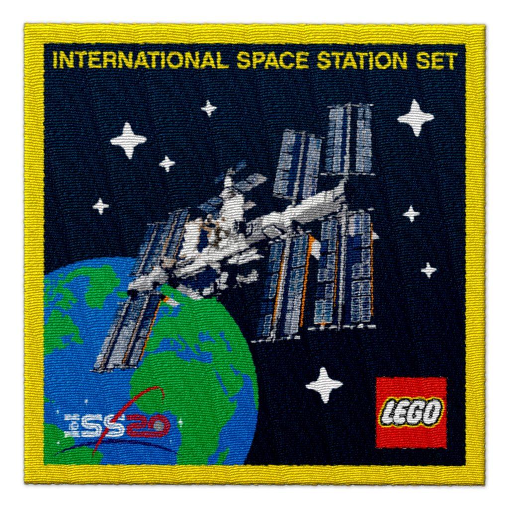 LEGO Raumfahrer-Abzeichen 5006148 als Gratisbeigabe | ©LEGO Gruppe