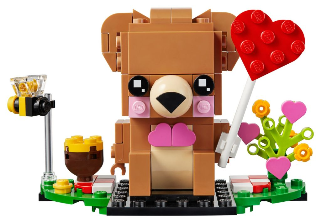 LEGO® Brickheadz 40379 Valentins-Bär | ©LEGO Gruppe