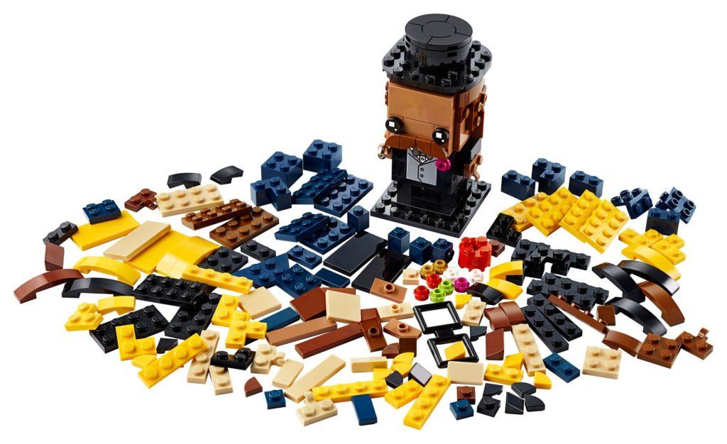 LEGO® Brickheadz 40384 Bräutigam | ©LEGO Gruppe