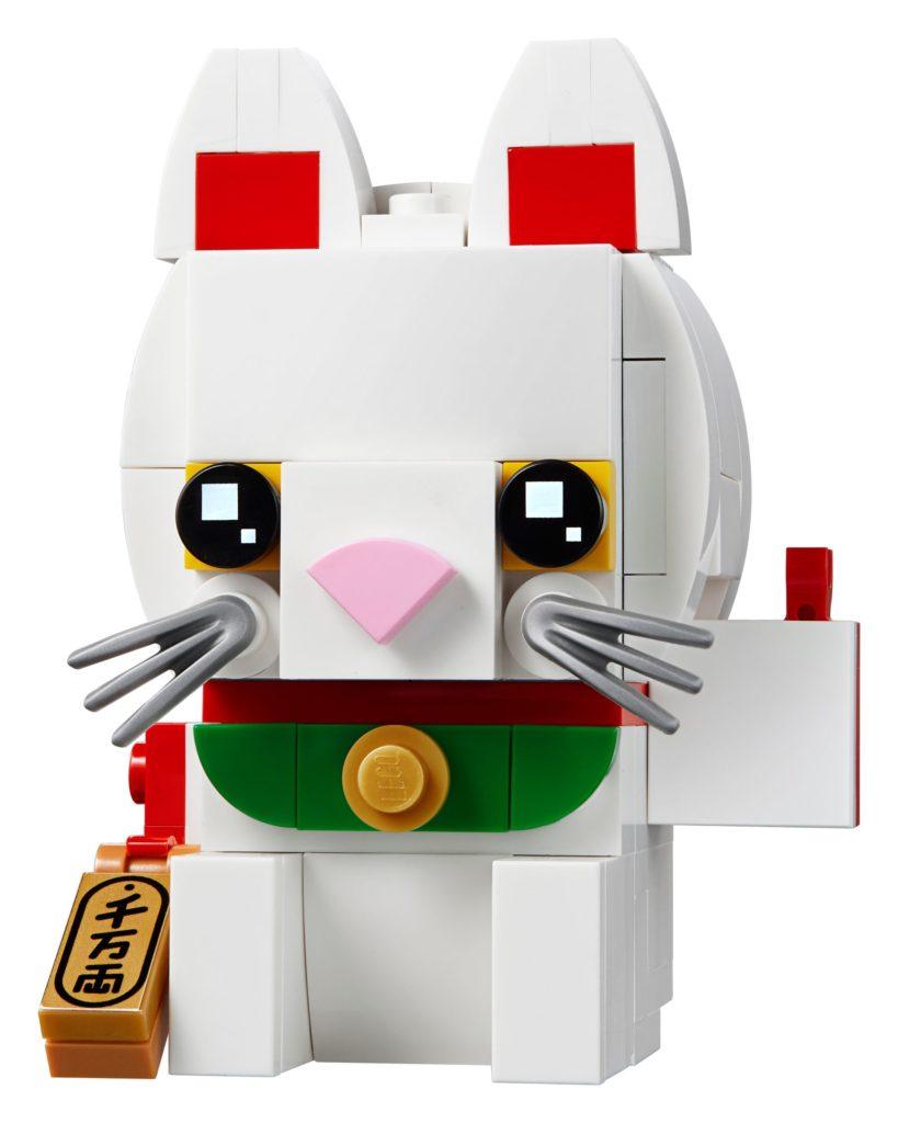 LEGO® Brickheadz 40436 Glückskatze | ©LEGO Gruppe