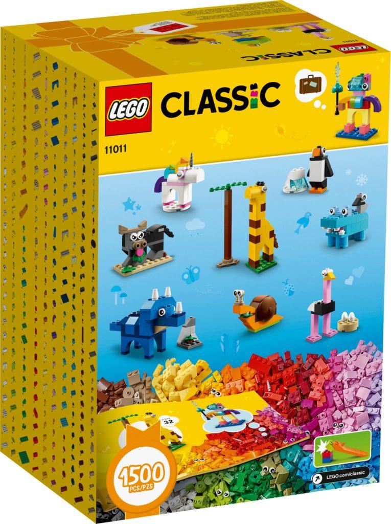 LEGO® Classic 11011 Steinebox - Steine und Tiere | ©LEGO Gruppe