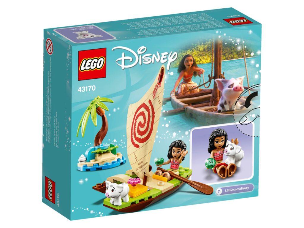 LEGO® Disney 43170 Vaianas Boot | ©LEGO Gruppe