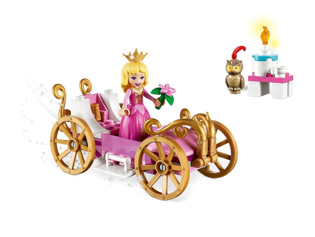 LEGO® Disney 43173 Auroras königliche Kutsche | ©LEGO Gruppe