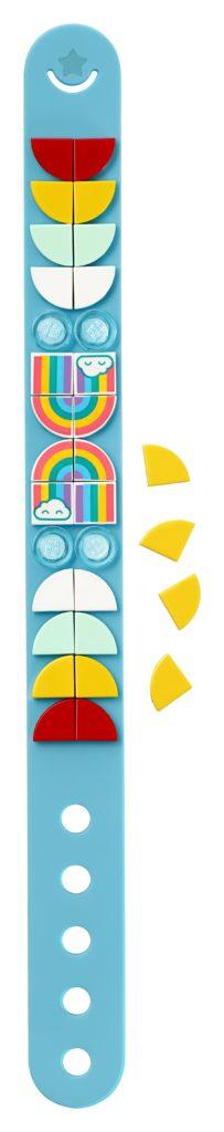 LEGO® DOTS 41900 Regenbogen Armband | ©LEGO Gruppe