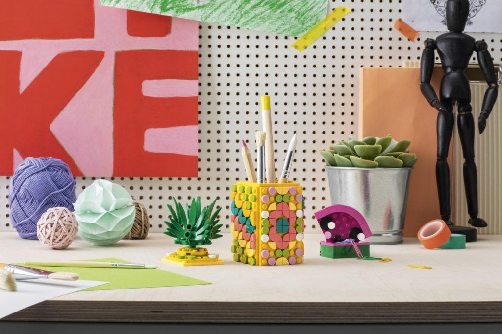 LEGO® DOTS 41906 Ananas Stiftehalter | ©LEGO Gruppe