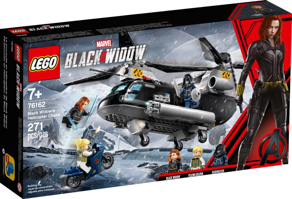 LEGO Marvel 76162 Black Widows Hubschrauber-Verfolgungsjagd | ©2020 LEGO Gruppe
