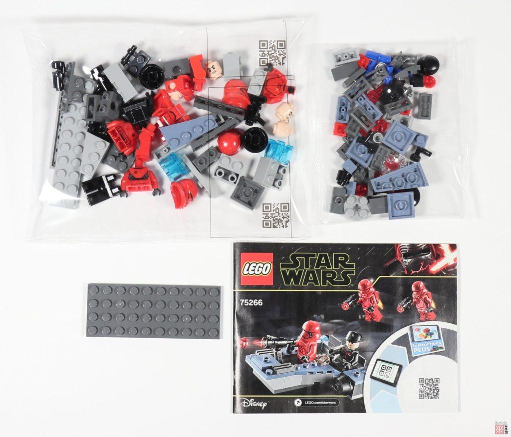 LEGO® Star Wars™ 75266 - Packung, Rückungsinhalt | ©2020 Brickzeit