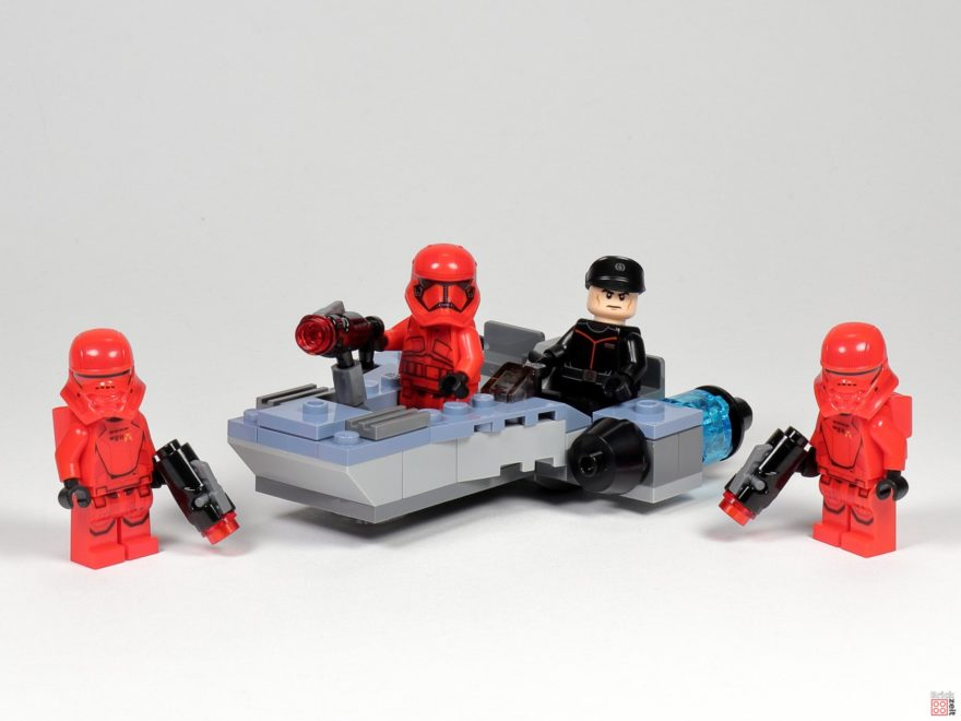 Review - LEGO® Star Wars™ 75266 Sith Tropers Battle Pack | ©2020 Brickzeit