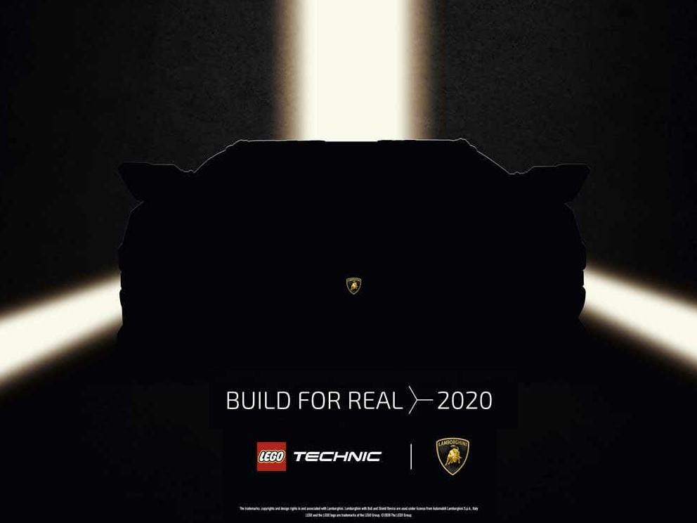 LEGO Technic Lamborghini Teaser | ©LEGO Gruppe