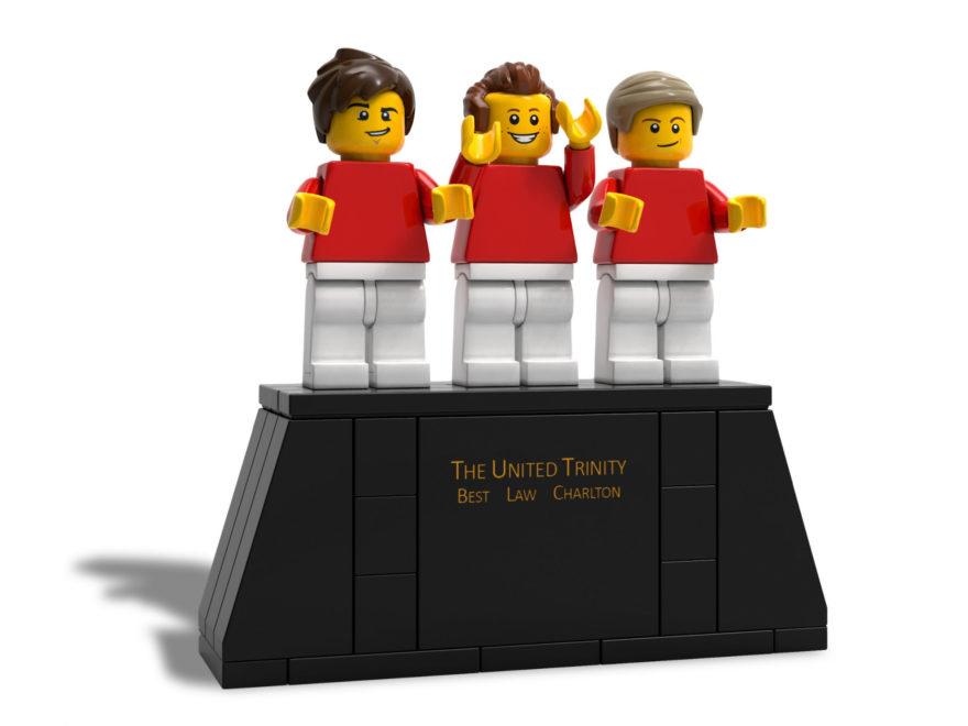 "LEGO® 5006171 ""The United Trinity"" - Statue | ©LEGO Gruppe"
