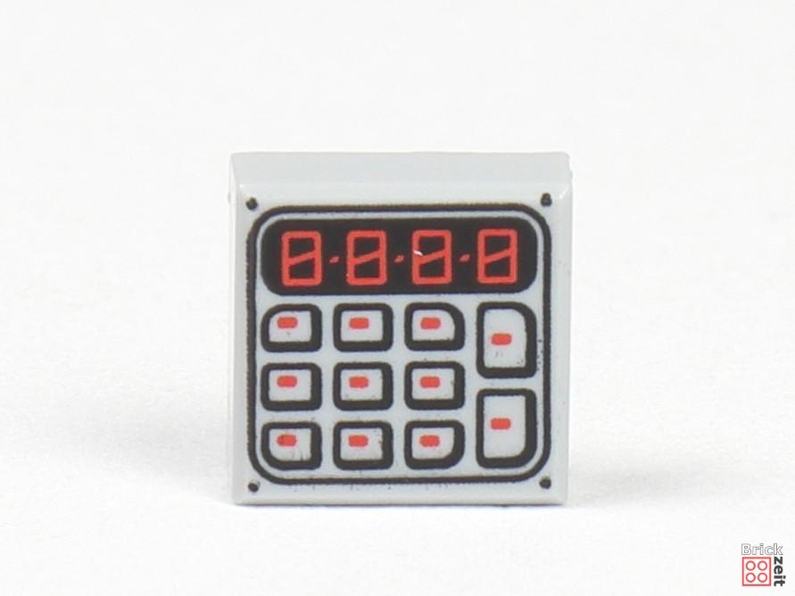 LEGO Zeitungskiosk - Taschenrechner | ©2020 Brickzeit