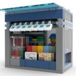 LEGO Zeitungskiosk Bauaktion 09.01.2020 | ©LEGO Gruppe
