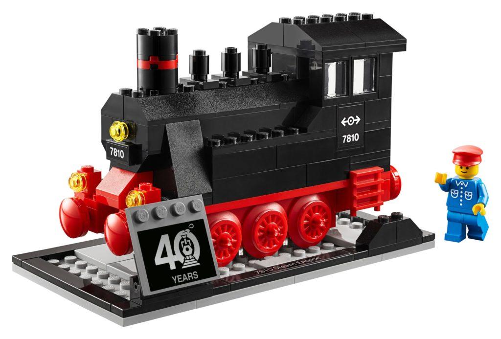 LEGO 40370 40 Jahre LEGO Eisenbahn exklusives Jubiläumsset | ©LEGO Gruppe