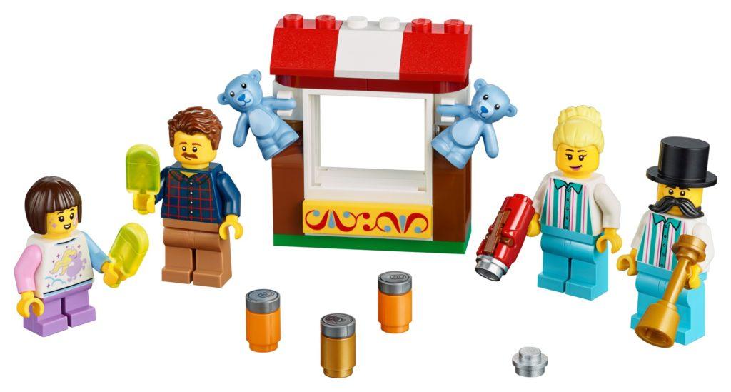 LEGO® 40373 Jahrmarkt-Minifiguren-Zubehörset | ©LEGO Gruppe