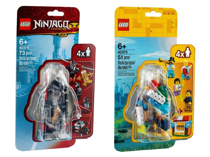 LEGO Minfiguren Zubehör-Sets 40373 u. 40374 | ©LEGO Gruppe