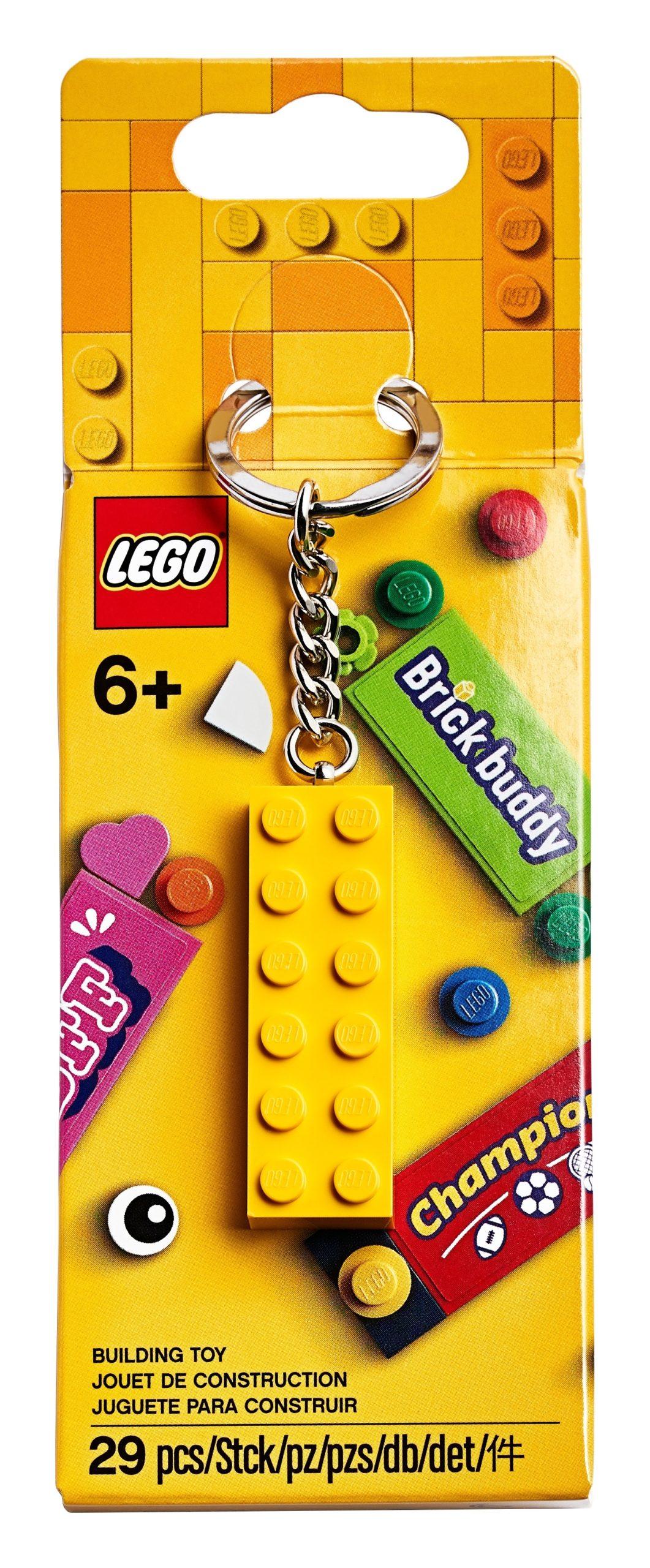 Neu /& OVP 1x Lego® 854032 Schlüsselanhänger New York Minfigur Junge