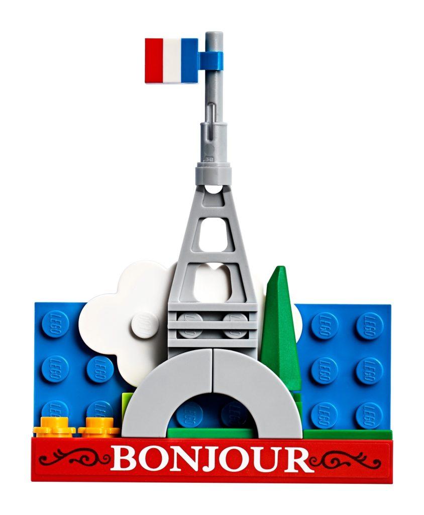 LEGO® 854011 Eiffelturm Magnet | ©LEGO Gruppe