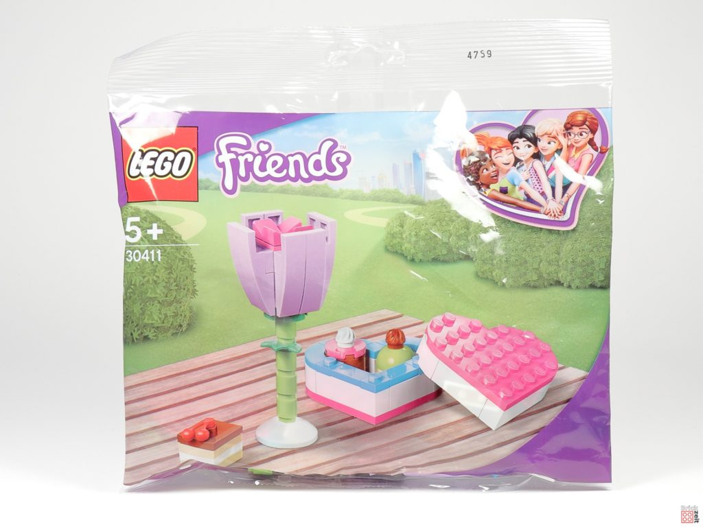 LEGO® Friends 30411 Pralinenschachtel & Blume - Polybag | ©2020 Brickzeit