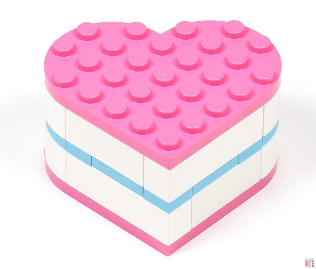 LEGO® Friends 30411 Pralinenschachtel & Blume - geschlossene Box | ©2020 Brickzeit