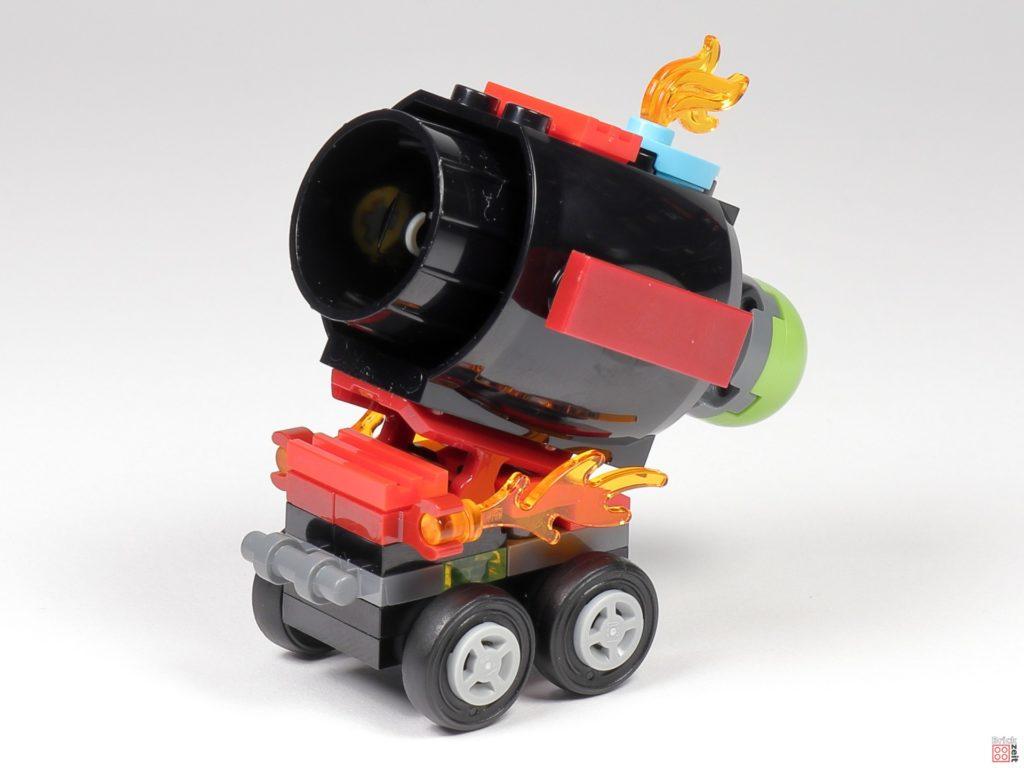 LEGO® 30464 Aufbau - fertige Kanone | ©2020 Brickzeit