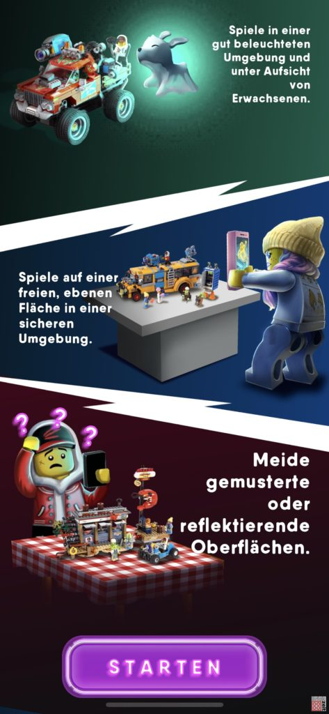 LEGO® 30464 in der Hidden Side App | ©2020 Brickzeit