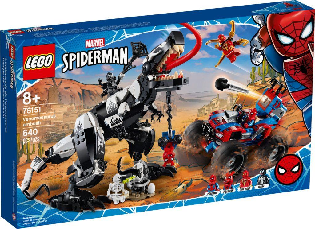 LEGO Marvel Spider-Man 76151 Venomosaurus Ambush | ©LEGO Gruppe
