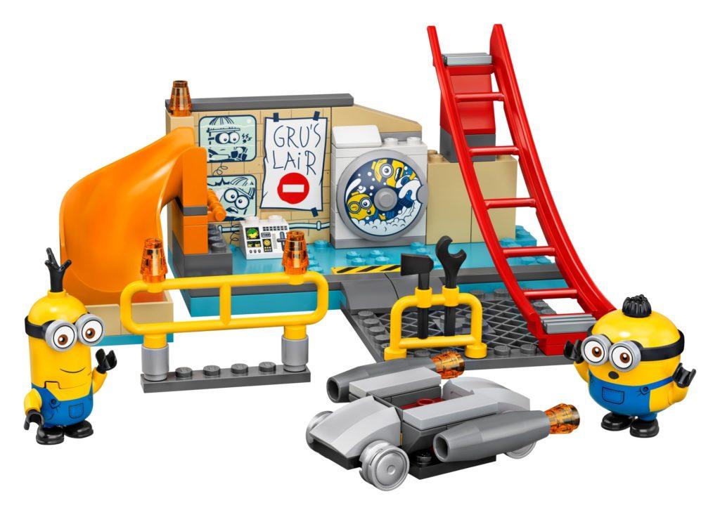 LEGO® Minions 75546 Minions in Grus Labor | ©LEGO Gruppe