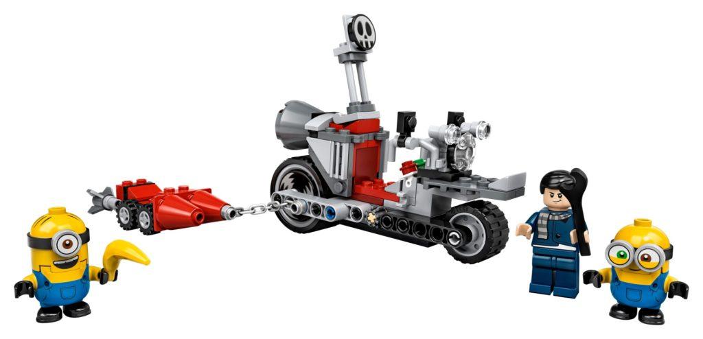 LEGO® Minions 75549 Unaufhaltsame Motorrad-Jagd | ©LEGO Gruppe