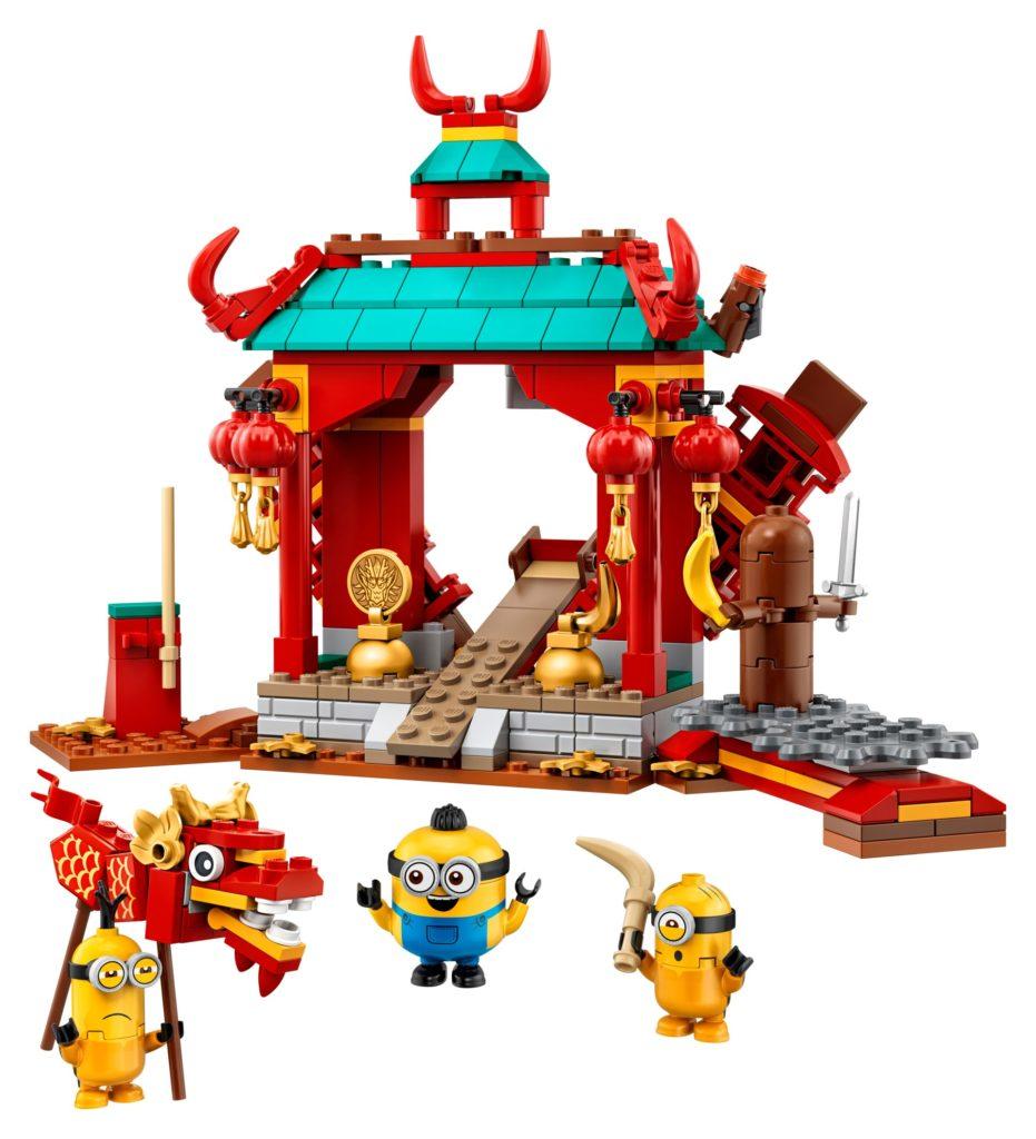 LEGO® Minions 75550 Minions Kung Fu Tempel | ©LEGO Gruppe