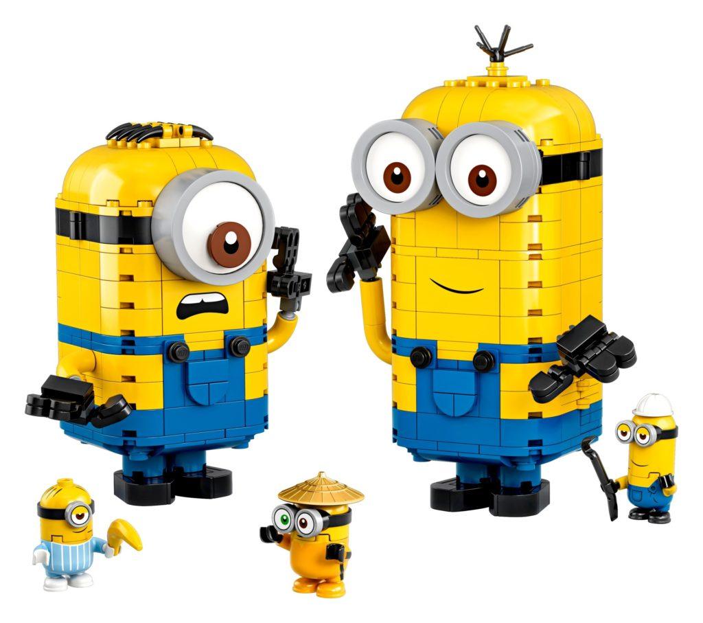 LEGO® Minions 75551 Minions-Figuren Bauset mit Versteck | ©LEGO Gruppe