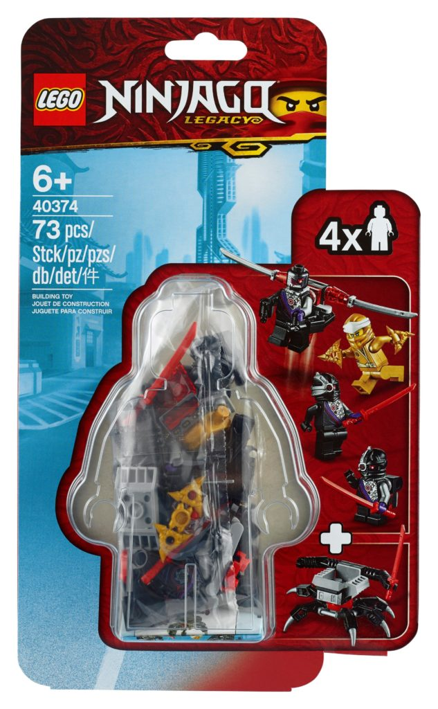 LEGO® 40374 Goldener Zane – Minifiguren-Zubehörset | ©LEGO Gruppe