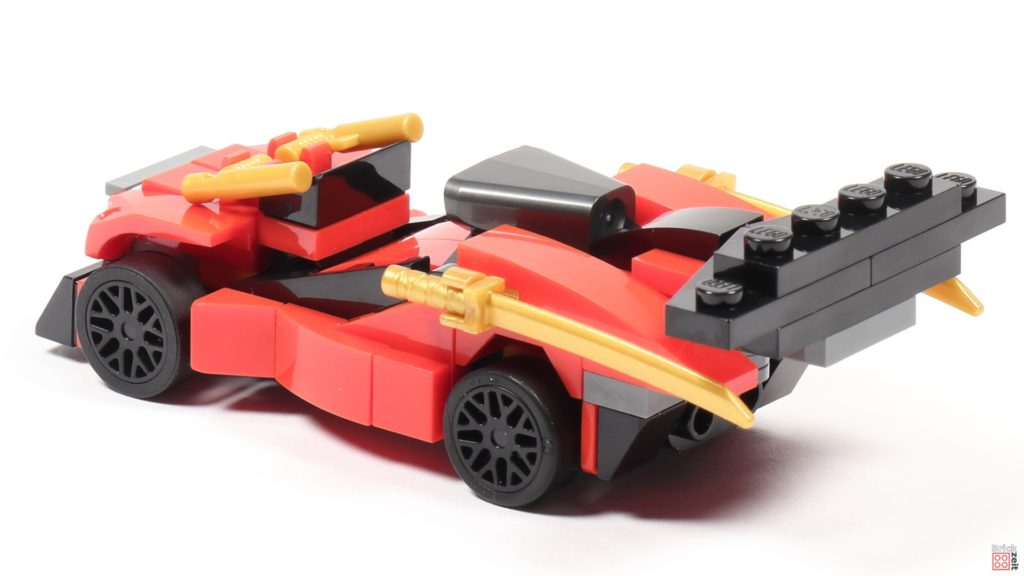 LEGO® Ninjago 30536 Kombi-Flitzer, hinten links | ©2020 Brickzeit