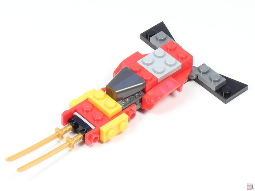 LEGO® Ninjago 30536 Mini Kai Fighter, Aufbau 03 | ©2020 Brickzeit