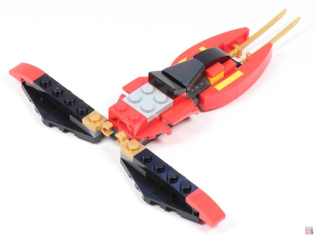 LEGO® Ninjago 30536 Mini Kai Fighter, Aufbau 06 | ©2020 Brickzeit