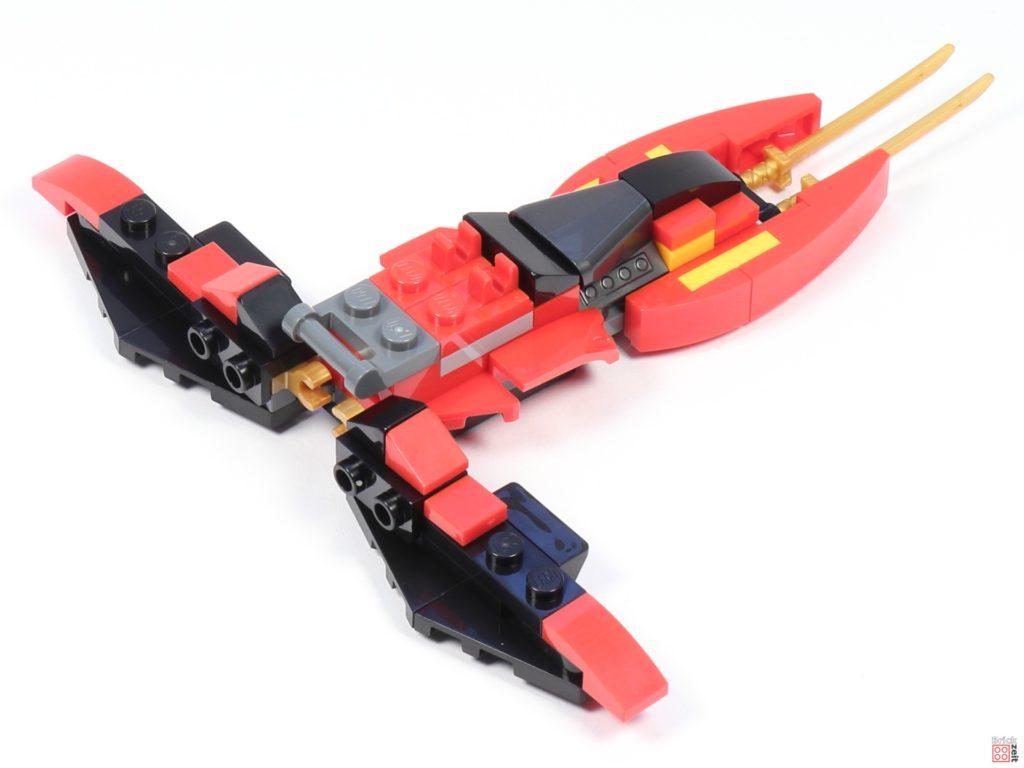 LEGO® Ninjago 30536 Mini Kai Fighter, Aufbau 07 | ©2020 Brickzeit