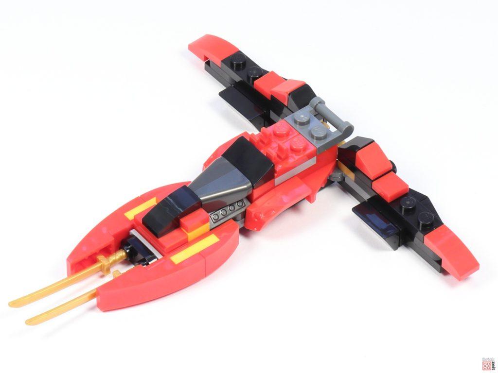 LEGO® Ninjago 30536 Mini Kai Fighter, Aufbau 08 | ©2020 Brickzeit